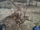 Some bad erosion on the track wouldn t want to dri